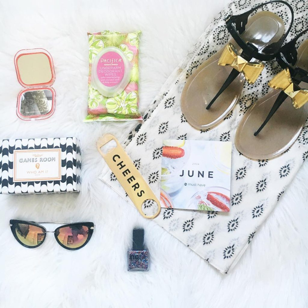 All my goodies from my popsugarmh musthavebox pair perfectly withhellip