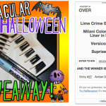 Attention: Halloween Giveaway WINNER announcement!!!!!