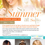 Celebrate Summer With Me At SoBlo, Boca Raton!
