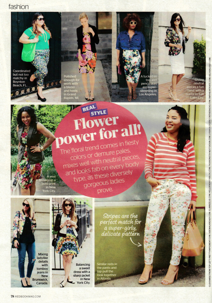 Pretty In Pigment in Redbook Magazine March 2014