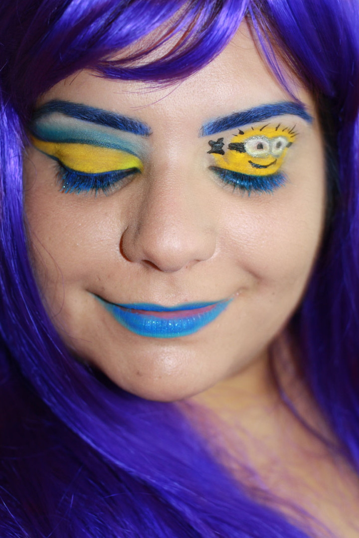 Cute Makeup Brushes: Despicable Me 2 Makeup Look
