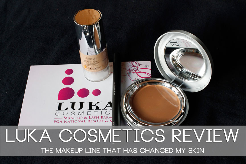 Luka Cosmetics: My Solution for Troubled Skin | Acne Prone Skin| Oily Skin | Rosacea| Dark Cycles