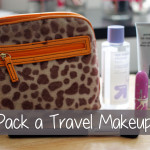 How to Pack a Travel Makeup Bag