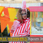 Halloween Makeup and Costume Ideas: Popcorn Attendant