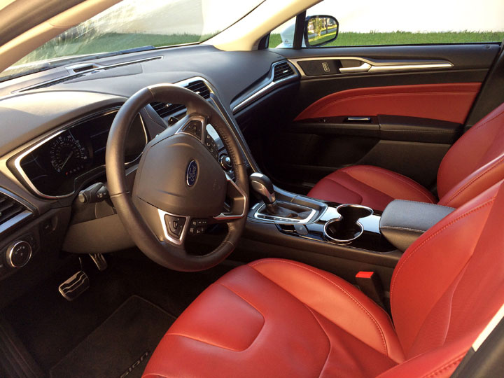 2014 ford fusion interior all informations you needs