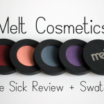 Melt Cosmetics Love Sick Review + Swatches