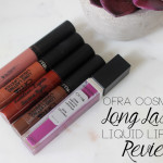 OFRA Liquid Lipstick Review