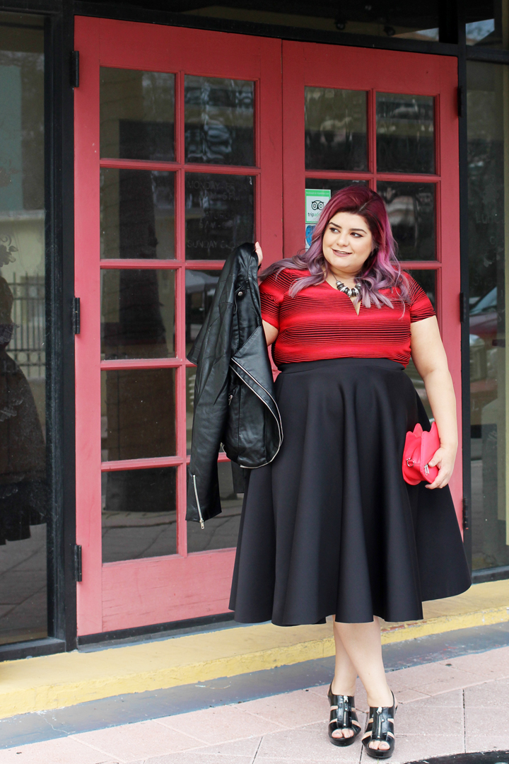 Valentineu2019s Day Outfit Ideas for Plus Size Women