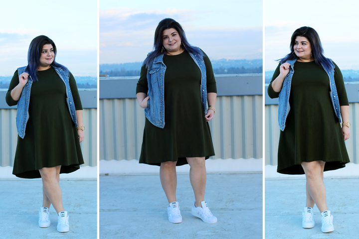plus size shift dress eshakti
