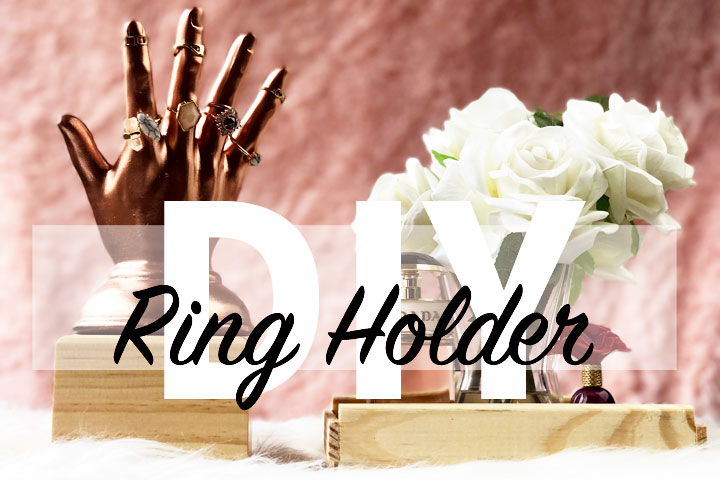 DIY Up-cycled Ring Holder