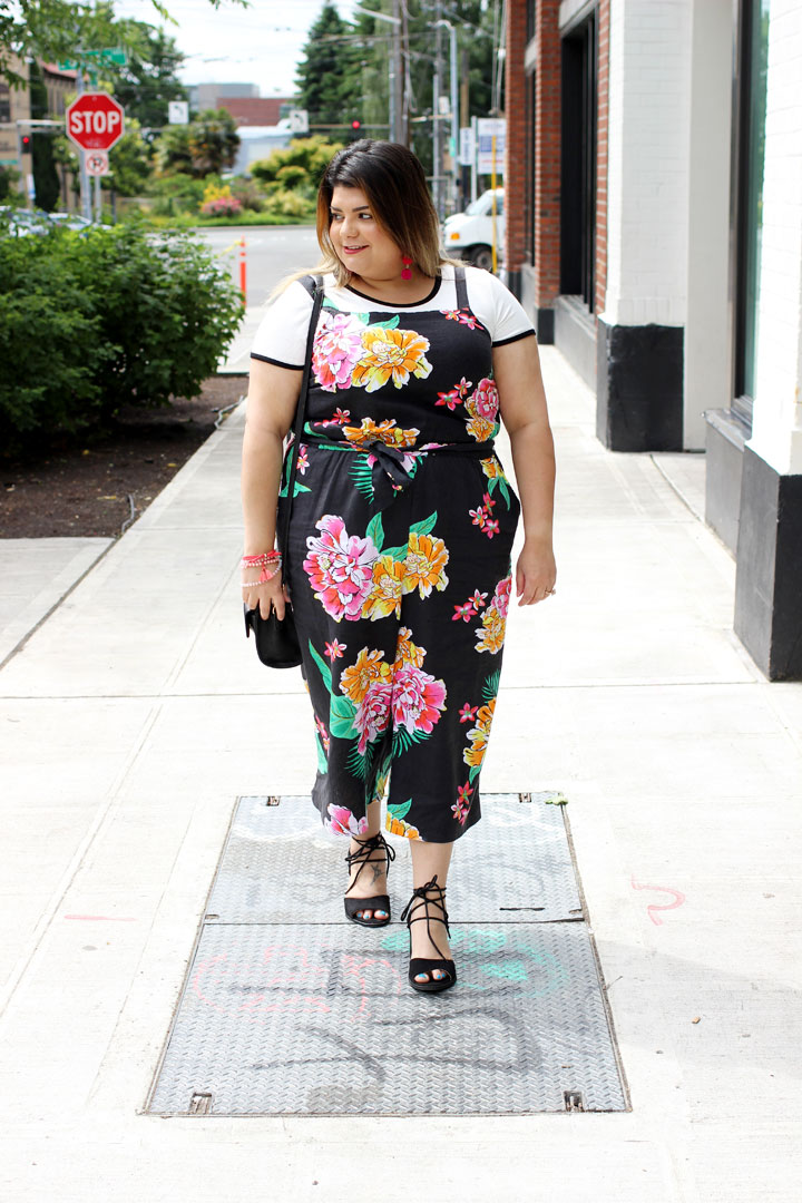 floral jumpsuit old navy