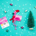 Easy DIY Gift Card Holder: Christmas Flamingo