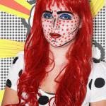 Cartoon Pop Art Makeup Look + Tutorial