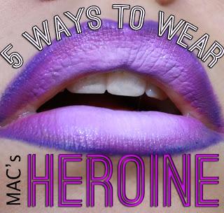 MAC Heroine Lipstick: 5 Ways to Rock a Matte Violet Pout!