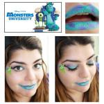 Monsters University Makeup Look