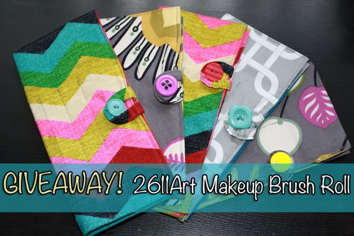 2611Art Custom Brush Roll Giveaway