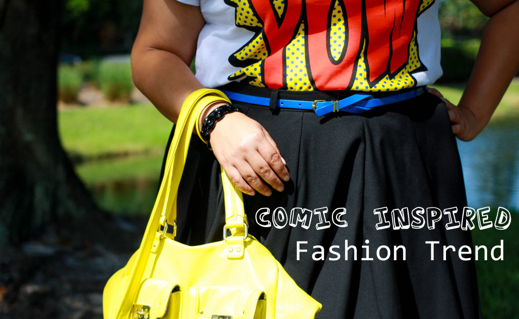 Comic inspired fashion trend