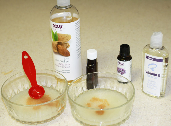 DIY Lavender Vanilla Face Scrub