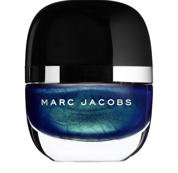 Marc Jacobs nail polish in blue velevet