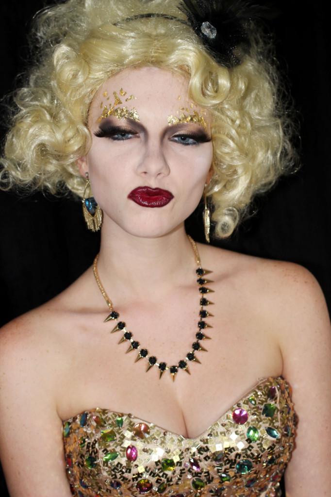 he Hunger Games Catching Fire Effie Trinket Makeup Look