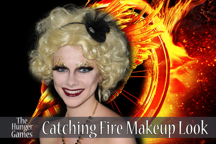 The Hunger Games Catching Fire Effie Trinket Makeup Look