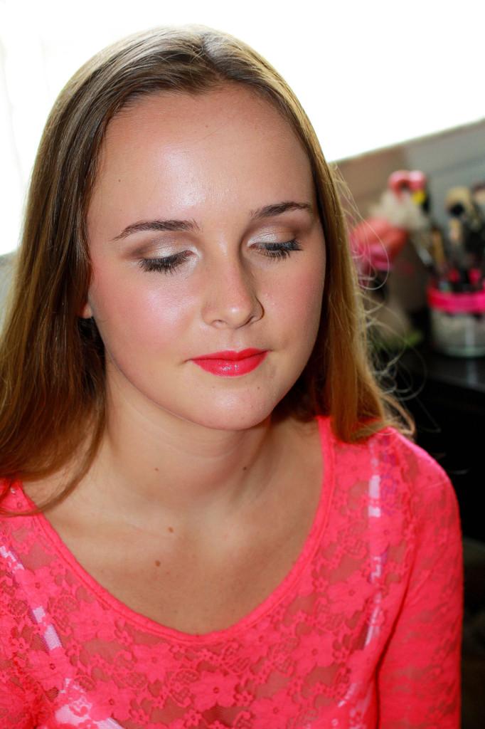 Girly makeup tutorial