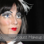 Creepy Ventriloquist Doll Makeup Look
