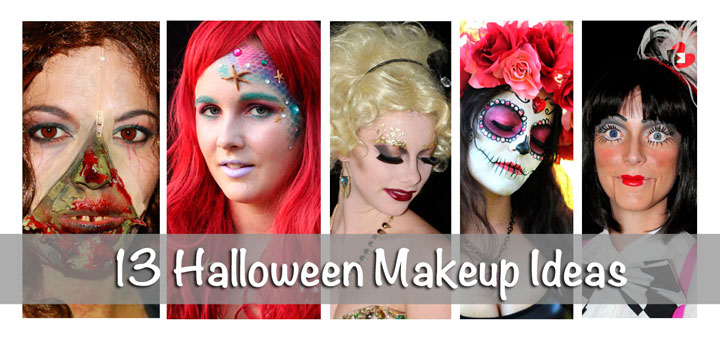 Halloween Makeup Ideas and Costume Ideas