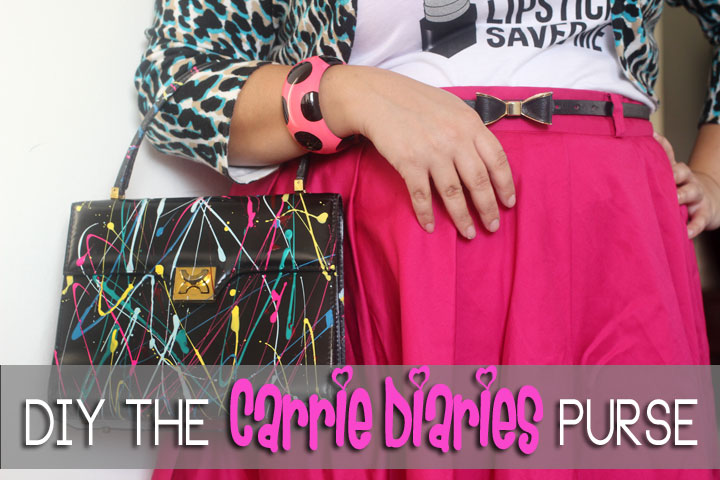 DIY Carrie Diaries Purse Tutorial