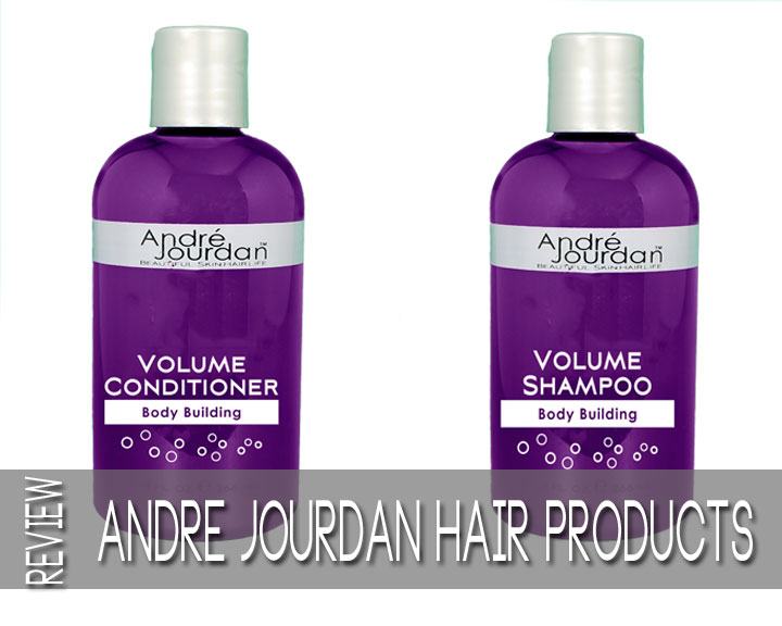 André Jourdan Volumizing Shampoo + Conditioner Review + GIVEAWAY | ENDED!