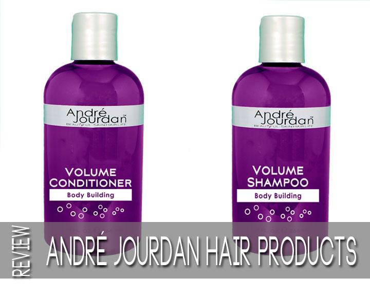 Andre Jourdan Volumizing shampoo and conditioner