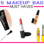5 Makeup Bag Must Haves