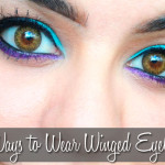 5 Ways to Wear Winged Eyeliner