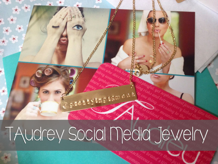 TAudrey Social Media Jewelry