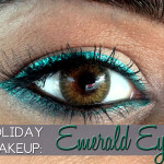 Holiday Makeup: Emerald Eyes