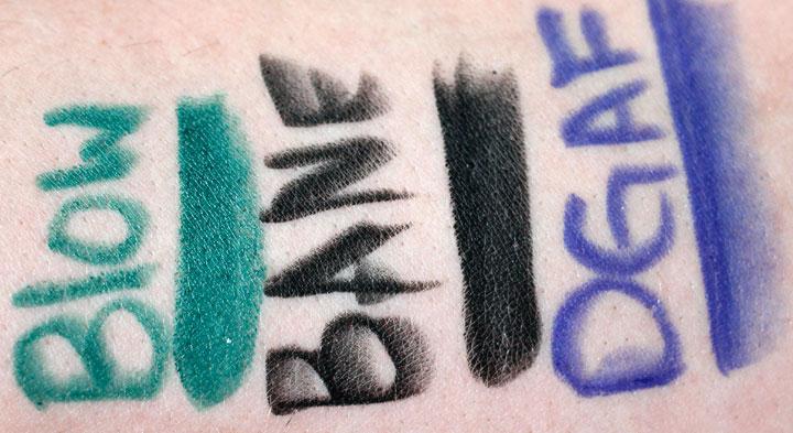 Melt Cosmetics Review | Bane | Blow | DGAF