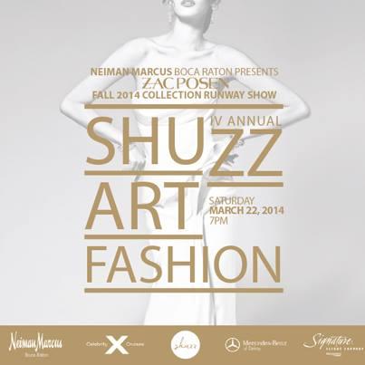 SHUZZ Fashion Show Invite