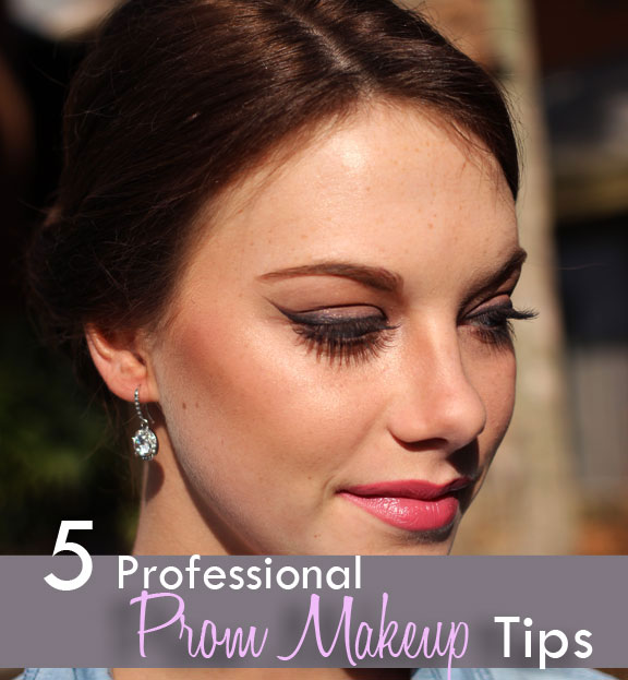 5 professional prom makeup tips
