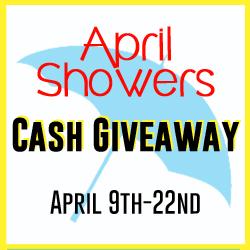 April showers $500 cash giveaway