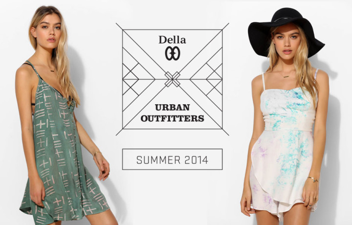 Della Summer 2014 Collection at Urban Outfitters