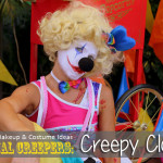Halloween Makeup and Costume Ideas: Creepy Clown