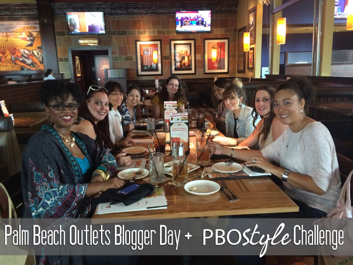 Palm Beach Outlets Blogger Day and Style Challenge