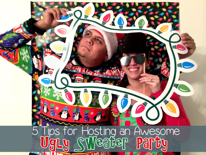 5 Tips for Hosting an Awesome Ugly Sweater Party