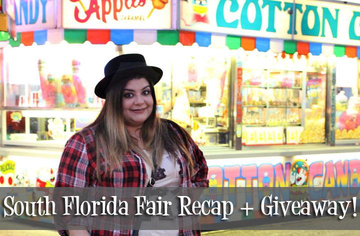 South Florida Fair Recap + Giveaway!