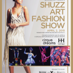 Shuzz Art Fashion Show on 4/2/15 in Boca Raton