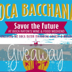 Boca Bacchanel Giveaway! | Ends 3/21/15