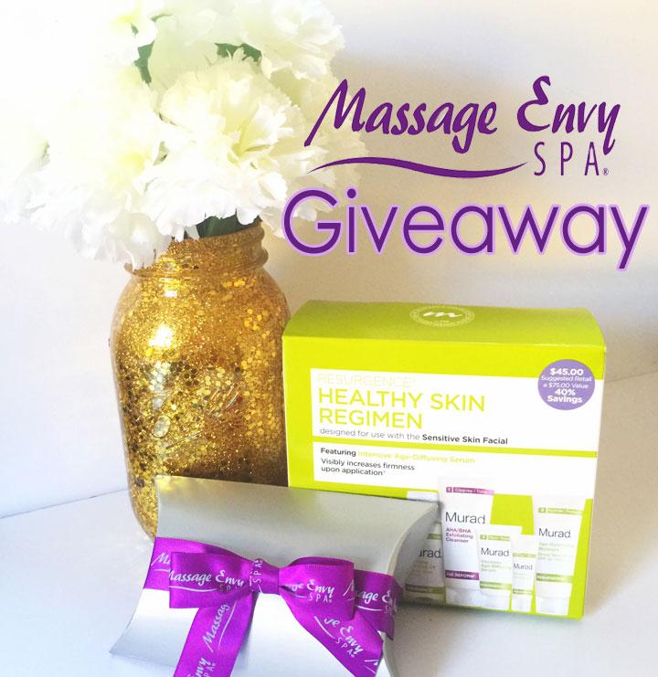 massage envy giveaway