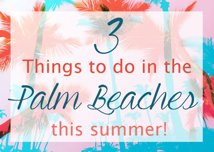 3 Things to Do in Palm Beach Florida This Summer