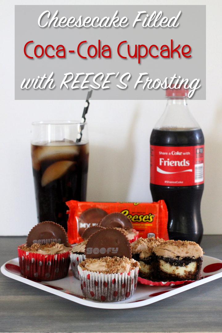 Cheesecake-Filled-Coca-Cola-Cupcake-with-REESES-Frosting