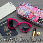 Travel Makeup Bag Essentials and Tips